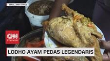 VIDEO: Mencicipi Lodho Ayam Pedas Legendaris