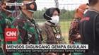 VIDEO: Mensos Diguncang Gempa Susulan