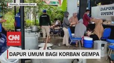 VIDEO: Dapur Umum Bagi Korban Gempa