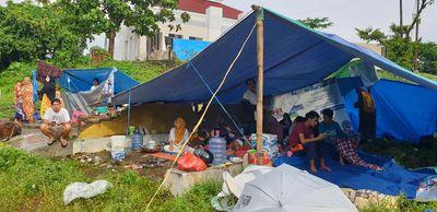 Tidak Disangka, Pengungsi Gempa Sulbar Akan Dites Rapid Antigen