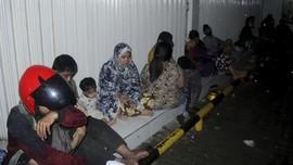 FOTO : Potret Haru Pengungsian Gempa Sulbar