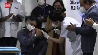 VIDEO: India Mulai Program Vaksinasi Corona Terbesar di Dunia