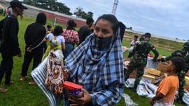 Pengungsi Gempa Mamuju Terserang Penyakit ISPA