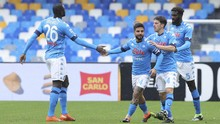 Hasil Liga Italia: Napoli Geser AS Roma