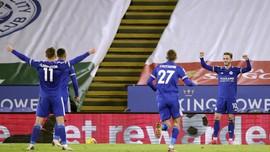 Klasemen Liga Inggris: Leicester Geser Liverpool