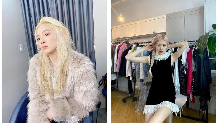Menawan! Ini 4 Idol Wanita Korea yang Sangat Cocok dengan Rambut Pirang