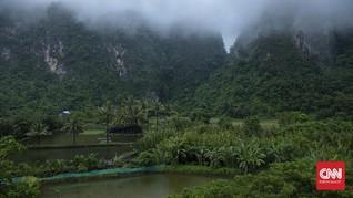 FOTO: Menjamah Hutan Karst Terbesar Ketiga di Dunia