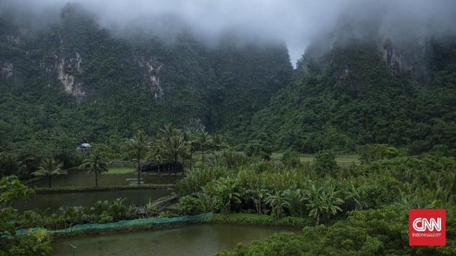 >FOTO: Menjamah Hutan Karst Terbesar Ketiga di Dunia