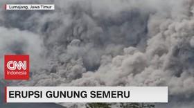 VIDEO: Erupsi Gunung Semeru