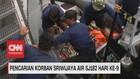 VIDEO: Pencarian Korban Sriwijaya Air SJ182 Hari ke-9