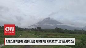 VIDEO: Pascaerupsi, Gunung Semeru Berstatus Waspada