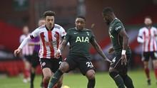 Hasil Liga Inggris: Tottenham Tekuk Sheffield 3-1