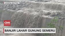 VIDEO: Penampakan Banjir Lahar Gunung Semeru