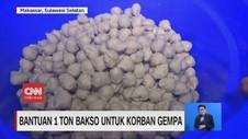 VIDEO: Bantuan 1 Ton Bakso Untuk Korban Gempa