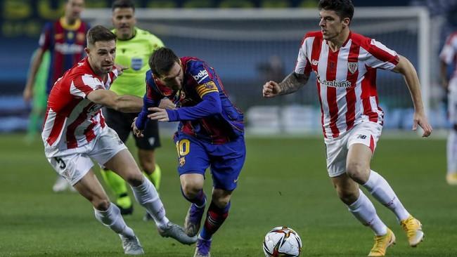 Hasil Piala Super Spanyol: Sungkurkan Barcelona, Bilbao Juara