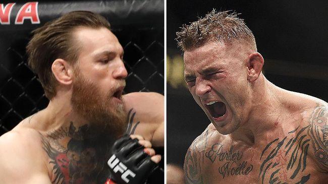 Conor McGregor memprediksi menang ronde 1 atas Dustin Poirier pada duel UFC 257 di Etihad Arena, Minggu (24/1).