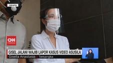 VIDEO: Gisel Jalani Wajib Lapor Kasus Video Asusila