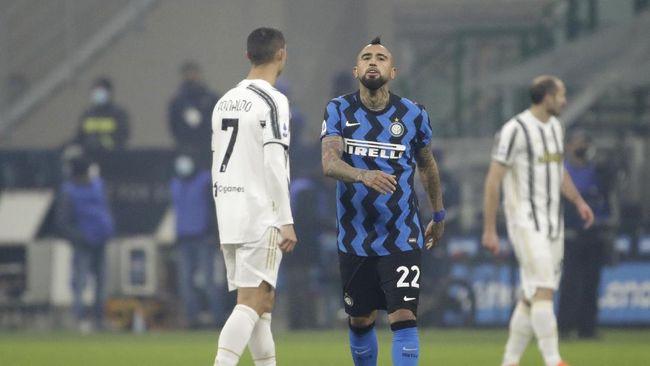 Klasemen Liga Italia mengalami perubahan setelah Inter Milan mengalahkan Juventus 2-0 dalam laga yang berlangsung Senin (18/1) dini hari.