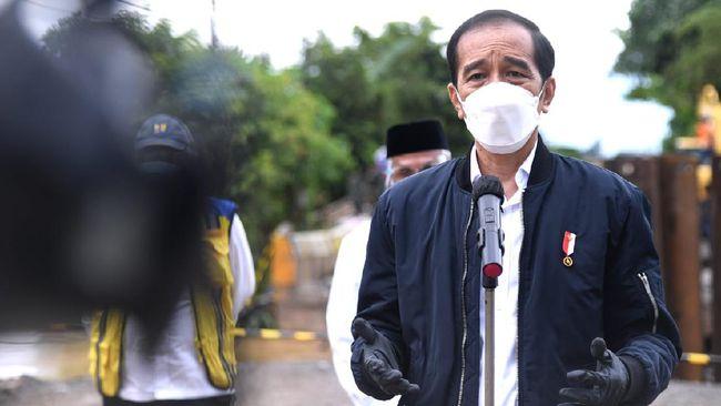 Jokowi bersyukur Indonesia bisa mengatasi krisis selama pandemi, sementara Budi Gunadi mengajak masyarakat merenung atas kasus Covid-19 menembus angka sejuta.