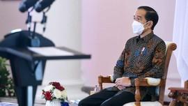 Jokowi Tuding Teknologi dan Covid-19 Disrupsi Bagi RI