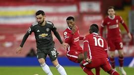 Catatan Buruk Liverpool Usai Diimbangi Man Utd