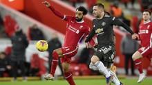 Hasil Liga Inggris: Liverpool vs Man Utd Tanpa Pemenang