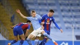 Hasil Liga Inggris: Man City Gulung Crystal Palace