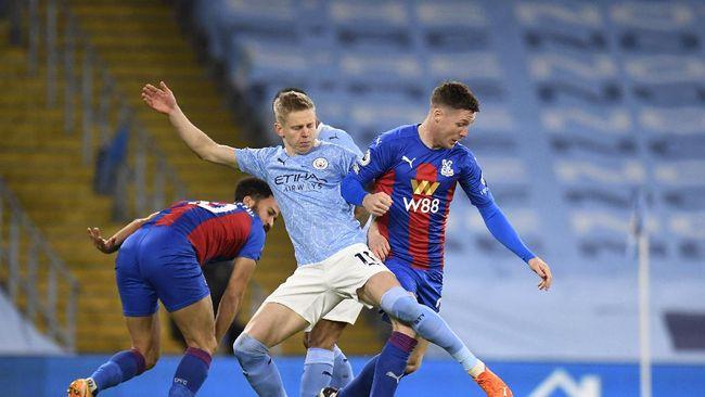 Manchester City sukses menggulung tamunya Crystal Palace dalam lanjutan Liga Inggris pekan ke-18.