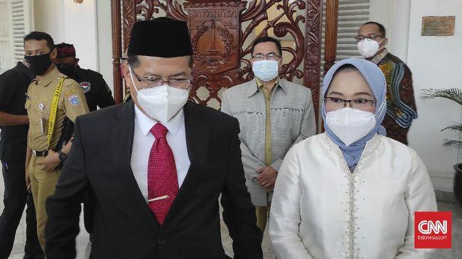 Marullah merangkap jabatan Sekda DKI dan Pt Wali Kota Jaksel karena belum ada pejabat definitif.