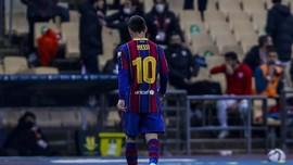 3 Kartu Merah dalam Karier Messi
