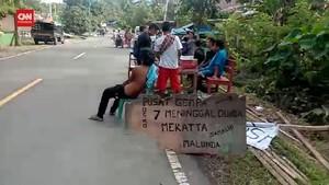 VIDEO: Korban Gempa Majene Minta Bantuan di Pinggir Jalan