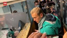 VIDEO: Aktivis Rusia Alexei Navalny Ditahan Lagi Usai Dirawat