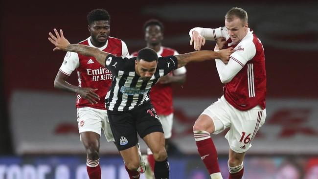 Hasil Liga Inggris: Aubameyang 2 Gol, Arsenal Gilas Newcastle
