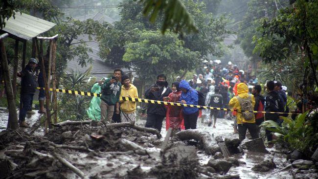 Daerah Agro Wisata Gunung Mas, Puncak, Bogor, yang sempat dilanda banjir bandang, disebut memiliki potensi tinggi pergerakan tanah.