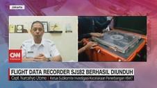VIDEO: FDR Sriwijaya Air SJ182 Berhasil Diunduh