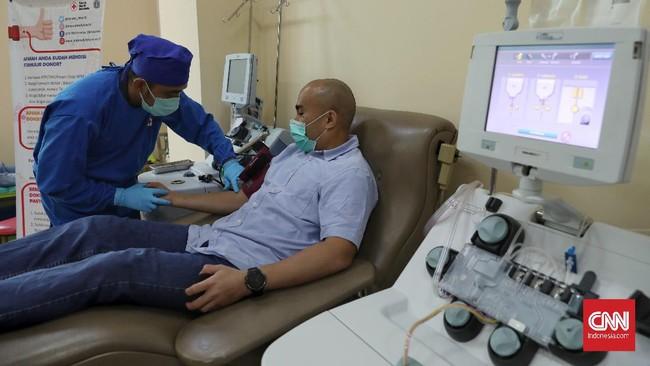 Ketum PMI Jusuf Kalla menargetkan ada 5.000 penyintas Covid-19 mendonorkan plasma konvalesennya dalam satu bulan guna menekan angka kematian akibat pandemi.