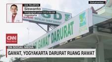 VIDEO: Gawat, Yogyakarta Darurat Ruang Rawat