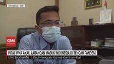 VIDEO: Imigrasi Cari Keberadaan WNA yang Ajak Turis ke Bali