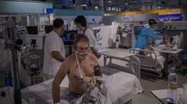 FOTO: Kesibukan RS Covid di Madrid yang Panen Kritik