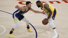 LeBron James Gagal Clutch, Lakers Ditekuk Warriors