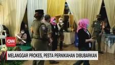 VIDEO: Melanggar Prokes, Pesta Pernikahan Dibubarkan