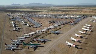 Ada 'Kuburan Pesawat' di Tengah Gurun Arizona