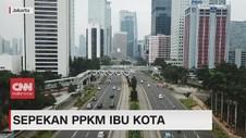 VIDEO: Sepekan PPKM Ibu Kota