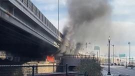 VIDEO: Insiden Kebakaran Saat GR Pelantikan Biden-Harris