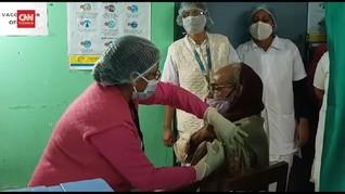 VIDEO: India Suntik 380 Ribu Orang Vaksin Covid dalam 3 Hari