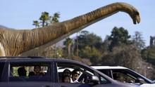 Penampakan Puluhan Dinosaurus yang 'Hidup Lagi' di California