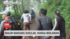 VIDEO: Banjir Susulan di Puncak Bogor, Warga Berlarian