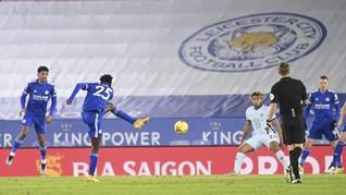 FOTO: Sikat Chelsea, Leicester Singkirkan Man Utd