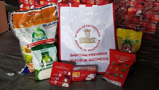 Bulog menyalurkan 9.000 paket Bantuan Presiden kepada masyarakat yang terdampak banjir di Kalimantan Selatan.