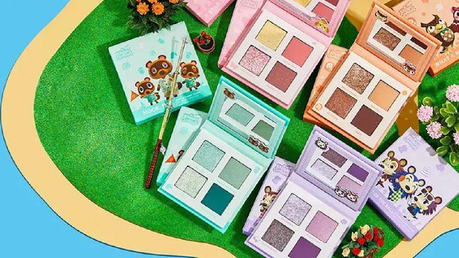 Nintendo mengumumkan kolaborasinya dengan merek kosmetik ColourPop dalam koleksi riasan yang terinspirasi oleh Animal Crossing: New Horizons.
